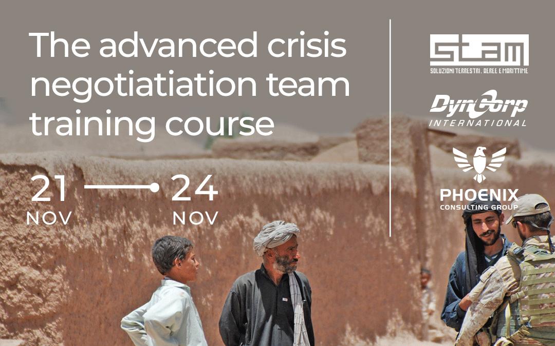 Advanced Crisis Negotiation Team Training Course